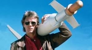 Ah, thank goodness - an excuse to use another photo of MacGyver.